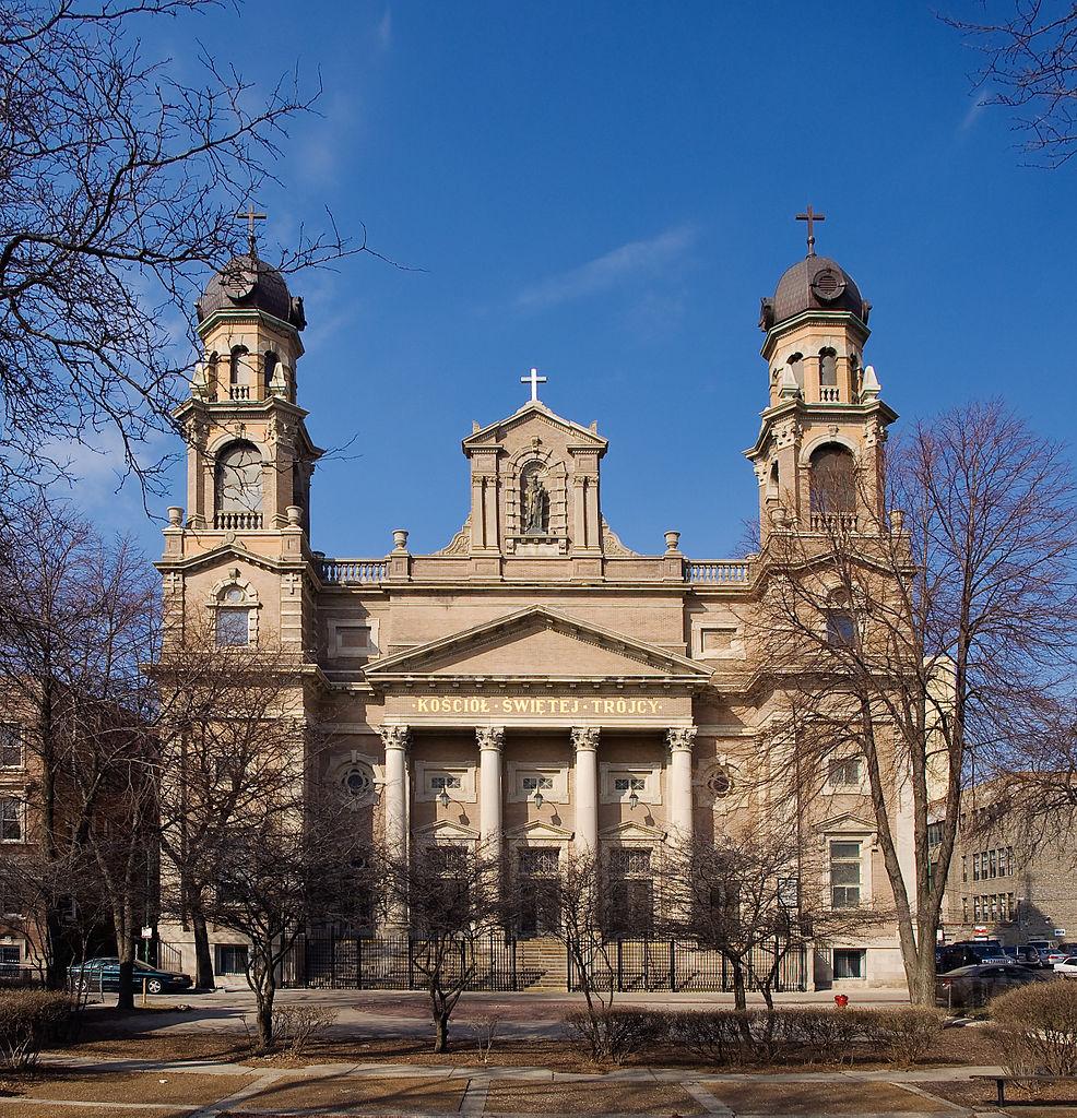 Odwiedź Kościół św. Trójcy w Chicago